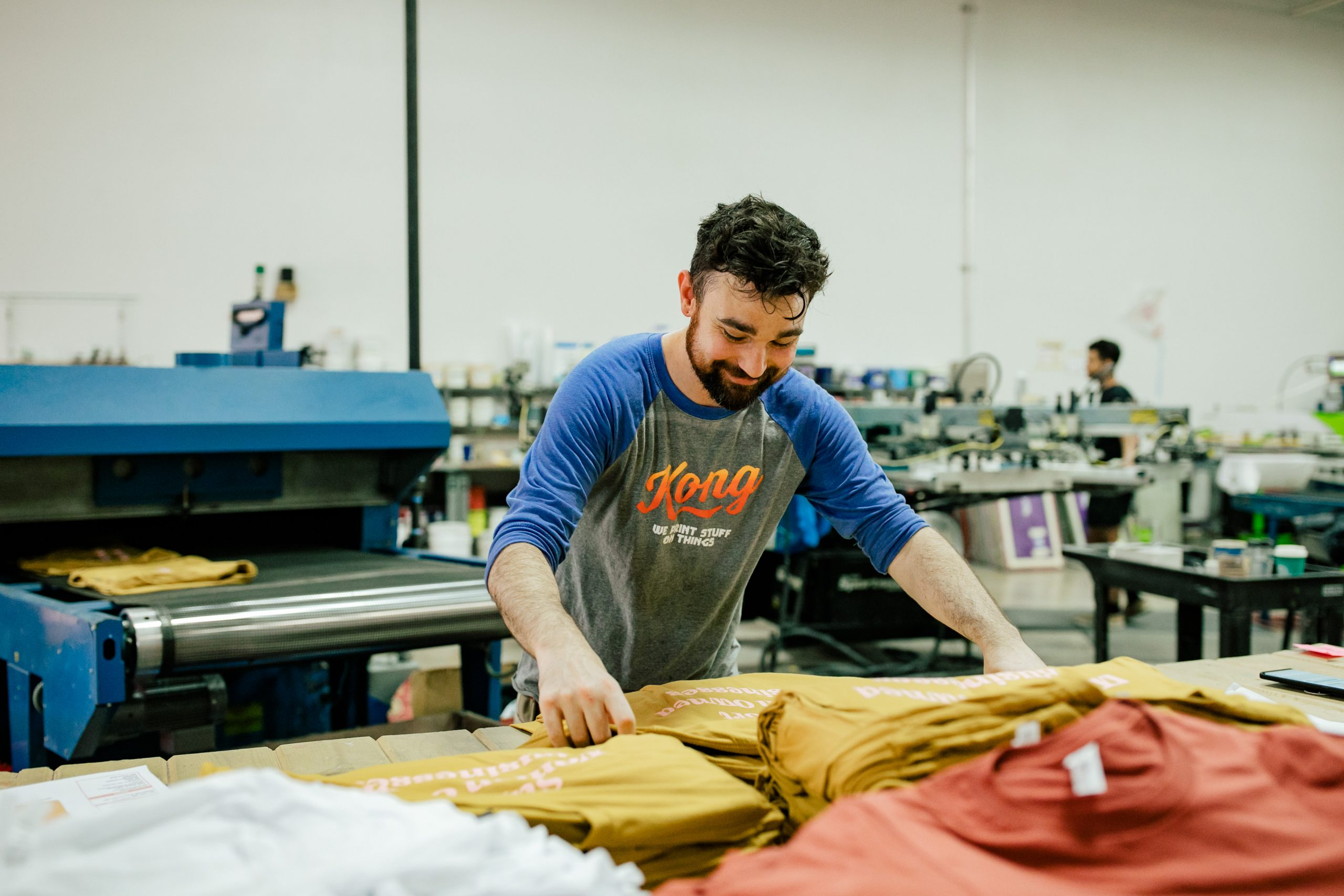 Ricky Smiling While Doing Quality Assurance